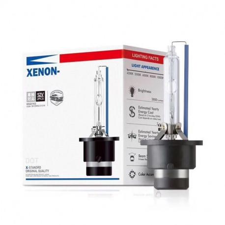 2X Ampoules Xénon D2S 8000K 55W HID