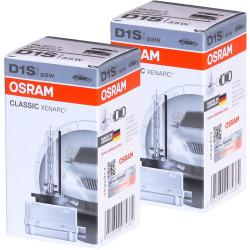 2X Ampoules D1S Osram Xenarc 66140 CLC