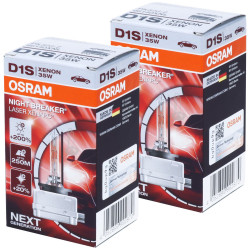 D1S Osram Night Breaker Laser +200%