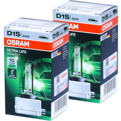 2X Ampoules D1S Ultra Life Osram 66140-ULT
