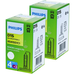 Ampoules D1S Philips 85415SY Longer Life