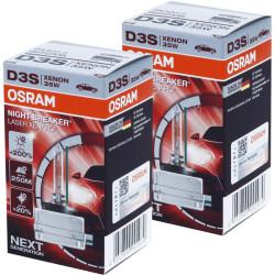 Ampoule xénon D3S Osram 66340XNL Night Breaker