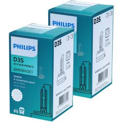 Ampoule Xénon D3S Philips 42403XV2 X-treme Vision +150%