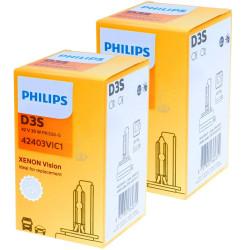 Ampoule Xénon D3S Philips 42403VI Vision XenStart