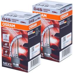 Ampoule xénon D4S Osram 66440XNL Night Breaker