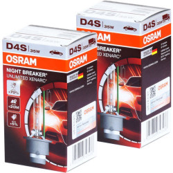 Ampoule D4S Osram 66440XNB NIGHT BREAKER UNLIMITED