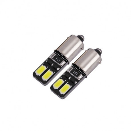 Ampoule 4 LEDS T4W BA9S Veilleuse Canbus