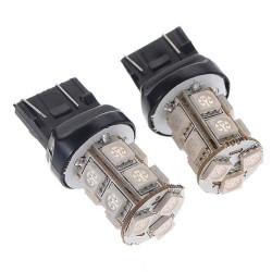 Ampoule T20 13-LEDS W21/5W Blanc