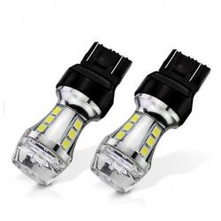 Ampoule T20 17-LEDS W21/5W Crystal