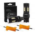 1X Ampoule T20 21 Leds W21/5W Canbus