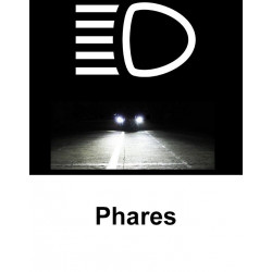 Ampoules Couleur Xénon pour Audi A3 8L
