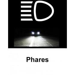 Ampoules Couleur Xénon pour Audi A3 8P