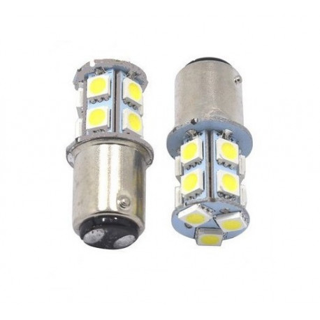 Ampoules LED P21/5W 13 SMD Culot BAY15D
