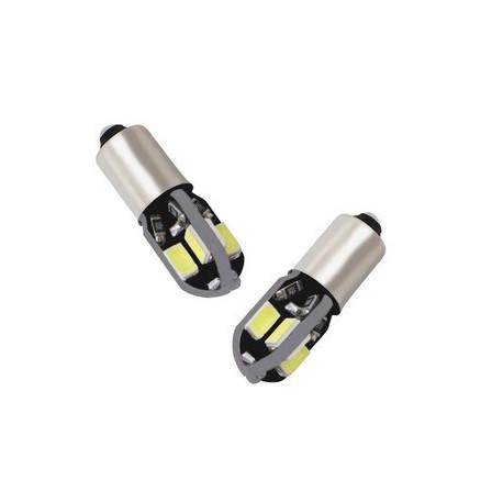 Ampoule 8 LEDS BA9S T4W