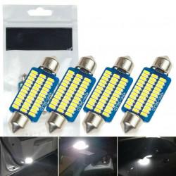 4 x Ampoule LED Canbus C5W 42mm Navette 36 leds