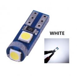Ampoule T5 LED lumière de courtoisie et compteur Blanc