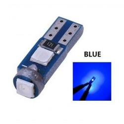 Ampoule T5 LED lumière de courtoisie et compteur Bleu
