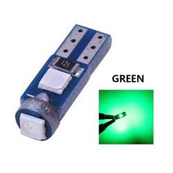 Ampoule T5 LED lumière de courtoisie et compteur Vert