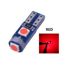 Ampoule T5 LED lumière de courtoisie et compteur Rouge