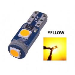 Ampoule T5 LED lumière de courtoisie et compteur Jaune