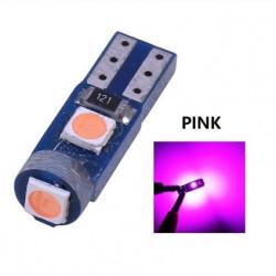 Ampoule T5 LED lumière de courtoisie et compteur Rose