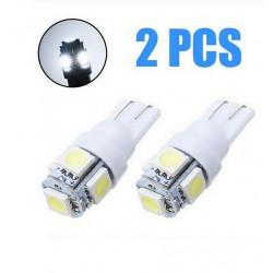 2x ampoule t10 24v blanche