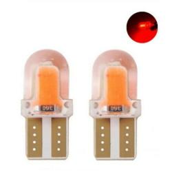 T10 Cob veilleuse Gel Rouge