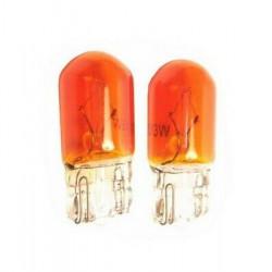 Ampoule T10 WY5W ORANGE 12 VOLTS
