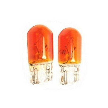 Ampoule T10 WY5W ORANGE 12 VOLTS
