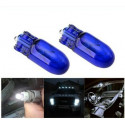 Ampoule T10 W5W Blanc Pur Anti-UV Effet Xenon Feux De Position Veilleuses 12V