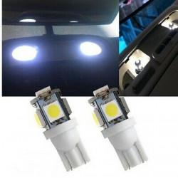 2x Ampoules T10 LED 12V 5 SMD