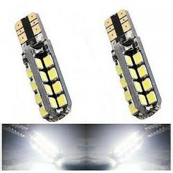 2x Ampoule T10 LED Canbus 32 SMD Veilleuse 6000K