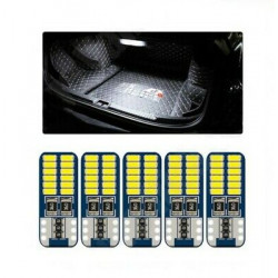 5x Ampoules T10 W5W LED Veilleuses 24 SMD Canbus