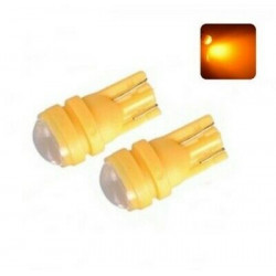 2x Ampoule T10 W5W LED SMD Orange pour Clignotants