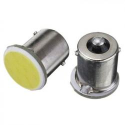 BA15S LED P21W COB 6000K Blanc Veilleuses 12V/24V