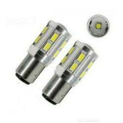 2x Ampoule BA15S LED P21W CREE 6000K Blanc Feux de Jour