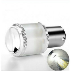1x Ampoule BA15S LED P21W Extra Blanc Feux de Jour 9 SMD