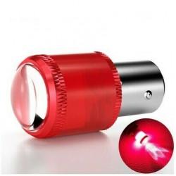 1x mpoule BA15S LED P21W Extra Rouge veilleuses feux arrière