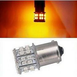 1x Ampoule BA15S LED P21W 50 SMD Orange