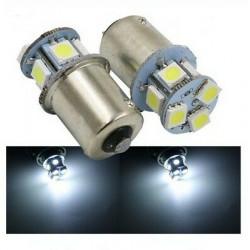 2x Ampoules BA15S LED P21W 13 SMD Blanc
