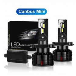 Kit LED H11 Mini 6000K Blanc 50W