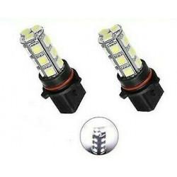 Ampoules LED P13W Extra Blanc COB 6500K