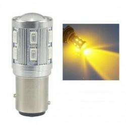 1x Ampoule LED BA15S P21W 12 Smd CREE Orange
