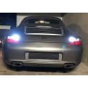 Ampoules leds canbus blanc 6000K feux de recul pour Porsche 997