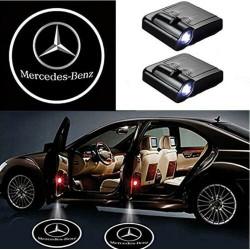 ercedes Benz LED Lumière de Courtoisie Ghost Shadow Light Logo Porte