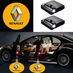 Renault LED Lumière de Courtoisie Ghost Shadow Light Logo Porte