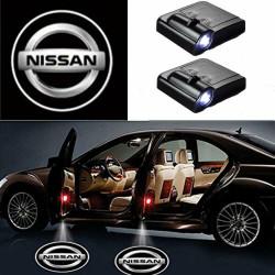 Nissan LED Lumière de Courtoisie Ghost Shadow Light Logo Porte