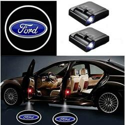 Ford LED Lumière de Courtoisie Ghost Shadow Light Logo Porte