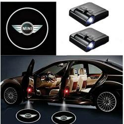 BMW MINI LED Lumière de Courtoisie Ghost Shadow Light Logo Porte