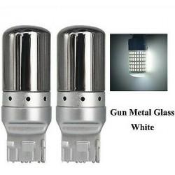 Ampoules LED T20 Chrome W21W 144 SMD Blanc feux de jour 7440